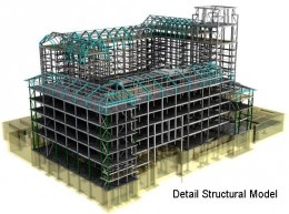 Structural BIM proves to be highly beneficial in the field of structural engineering. In simple terms, a 3D structural model provides a more intrinsic view of a building structure effectively along with components like columns, beams, bolts, etc, than it actually appears to human eyes.