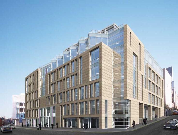 precast concrete buildings | West Port House by Michael Laird Architects: image pixelimage