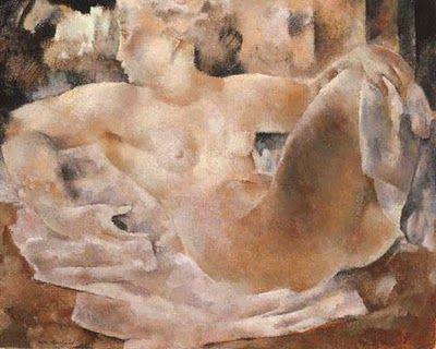 "Rodolphe-Théophile Bosshard - ""Nude"" 1926"