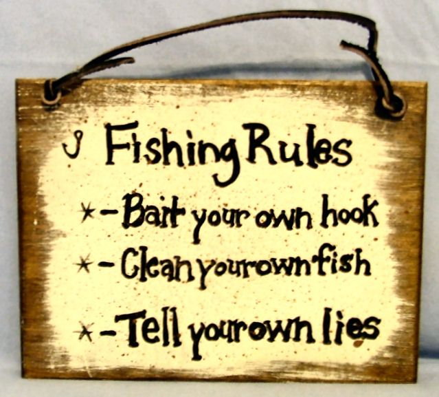 Fishing Signs   Availability: in stock