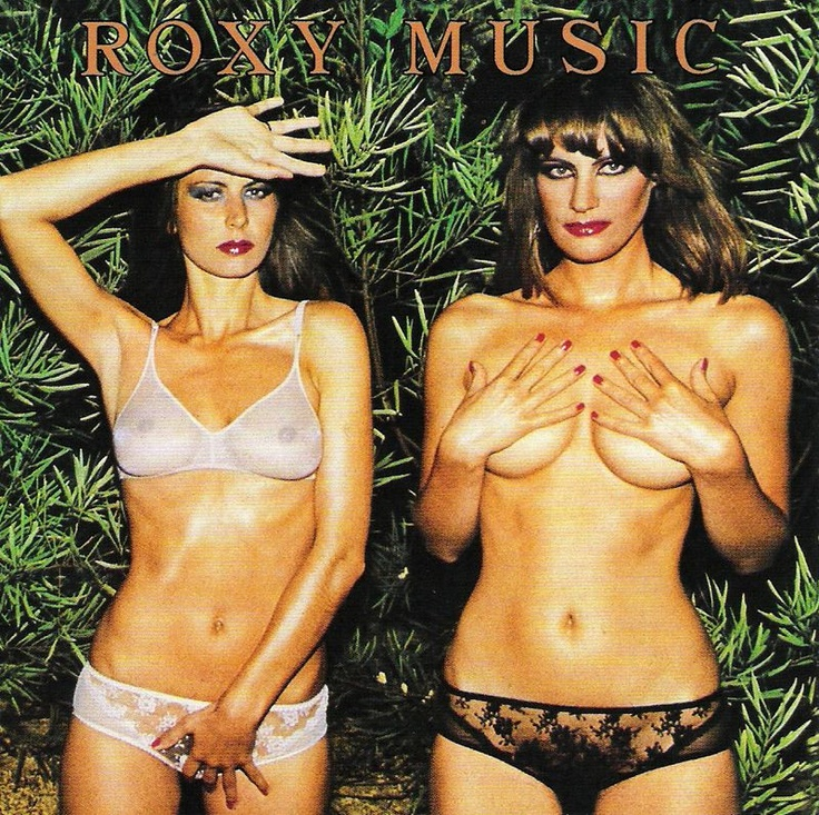 roxy music album sleeve wall.