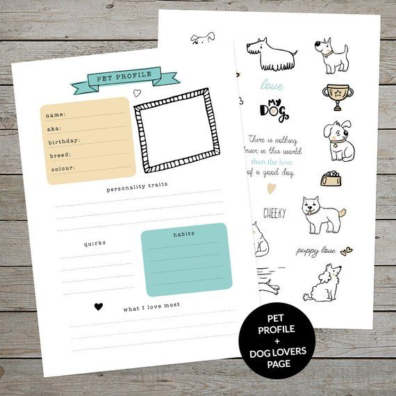 A5 NoteBook Dogs Leave Paw Prints
