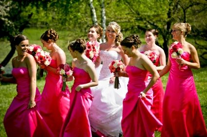 : Pink Wedding, Summer Wedding Ideas, Pink Colors, Bride Maids Dresses, Pink Bridesmaid Dresses, Wedding Colors, Bridemaid, The Dresses, Latest Trends