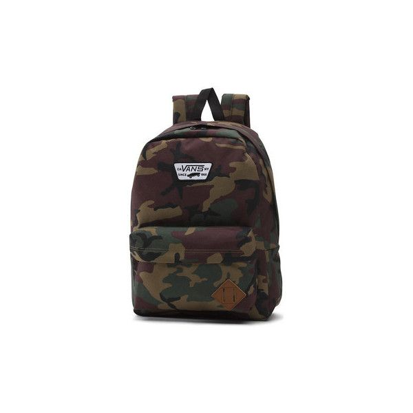 Vans MOCHILA OLD SKOOL Backpack (185 BRL) ❤ liked on Polyvore featuring bags, backpacks, backpack, other, knapsack bag, daypack bag, rucksack bag, vans rucksack and vans backpacks