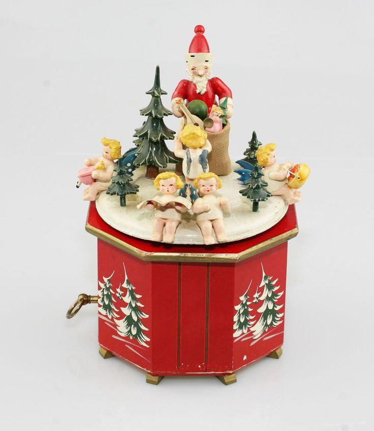 Rare U0026 Vintage STEINBACH Musical Box With Thorens Movement   Alle Jahre  Wieder | Erzgebirge | Pinterest | Box, Decoration And Vintage