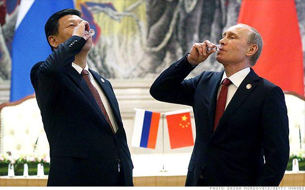 Russia slashing vodka prices as economy reels