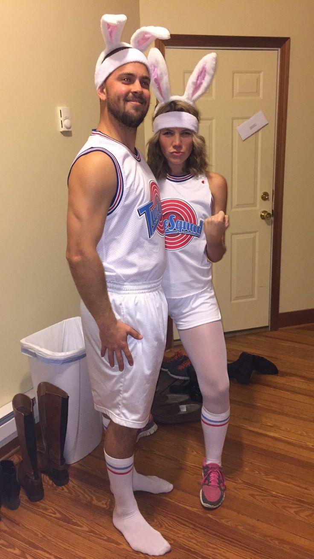 Couples Halloween Costume SpaceJam Tune Squad Bugs and Lola