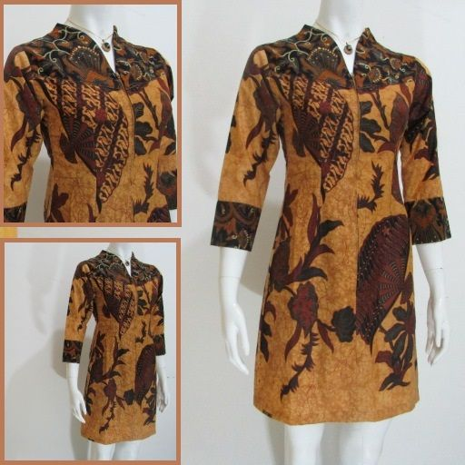 Online Shop Baju Batik Kerja: 1000+ Images About Model Dress Batik Modern Terbaru Online