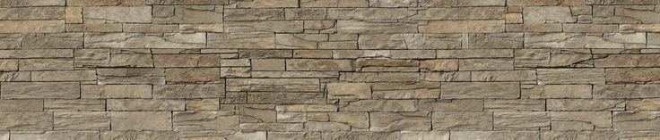 Panel NOLTE z nadrukiem - brązowy kamień
