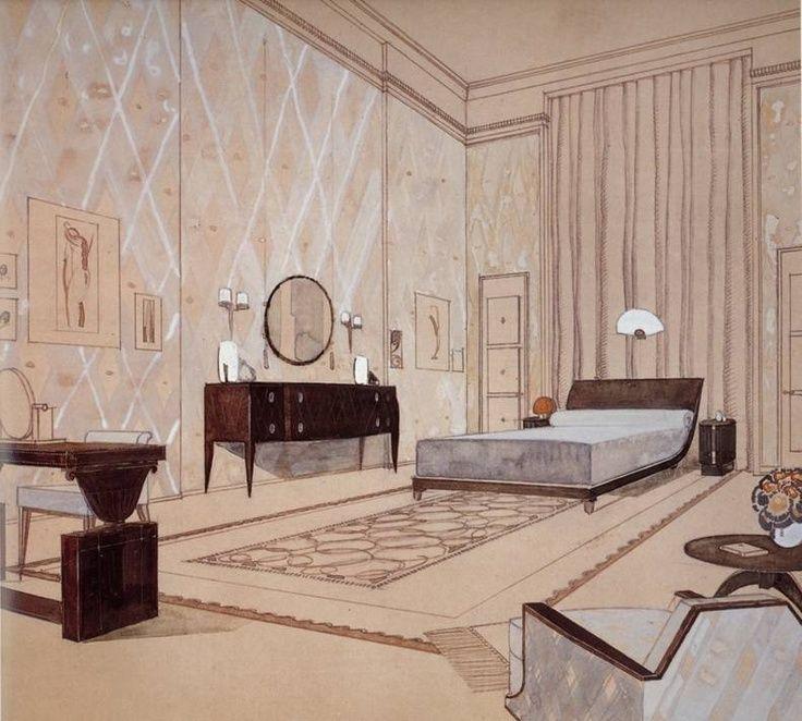 17 Best Images About Art Deco Beds On Pinterest Art Deco