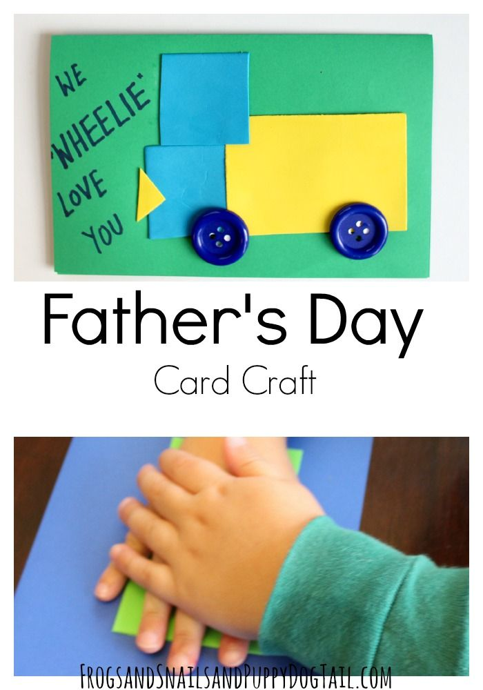 ideas father's day cards make