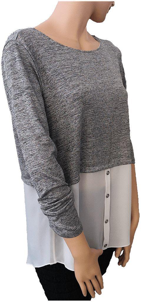 ¿Quieres una prenda que puedas usar de distintas formas, versátil y claro, de moda? Pues este blusón, es lo que estás buscando. Tallas XL, XXL y XXXL.