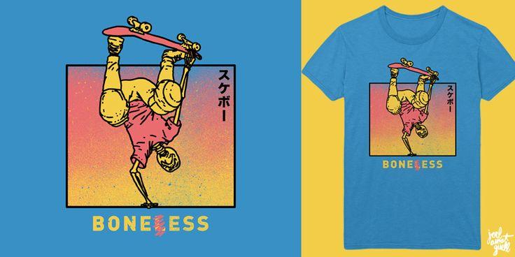 """BONES"" t-shirt design by JO3L"