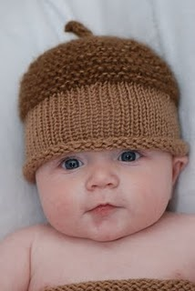 Knitting Pattern For Acorn Hat : acorn hat inspiration Knitting~Babies & Kids Pinterest ...