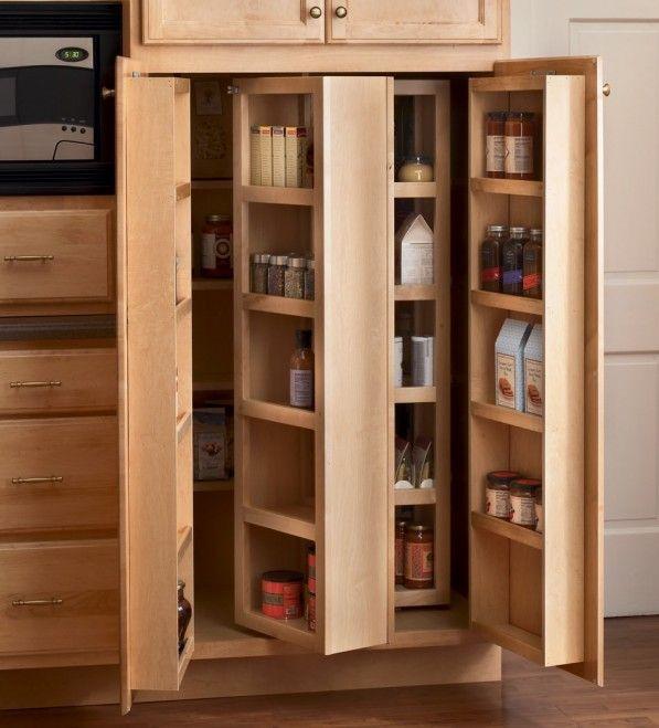 kitchen storage cabinets pantry 2