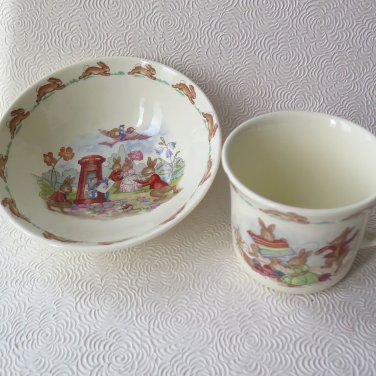 44 best vintage easter basket and fashions images on pinterest bunnikins royal doulton bowl cup mug unravel knitter yarn letterbox made in england english fine bone china childrens easter basket gift negle Image collections