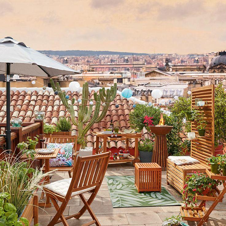29 besten Dachterrasse \ Balkon Bilder auf Pinterest Rund ums - sitzgruppe im garten 48 ideen fur idyllischen essplatz im freien