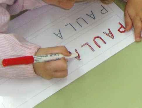 El aprendizaje del proceso de la lectura y escritura: Propuesta de actividades con el nombre propio