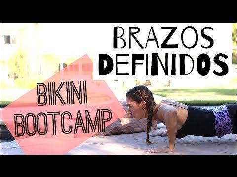RETO BIKINI BOOTCAMP   Brazo/Espalda Definidos   (Semana 1Parte 2)   Naty Arcila   - YouTube