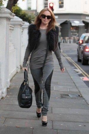 chaleco pelo Kylie Minogue