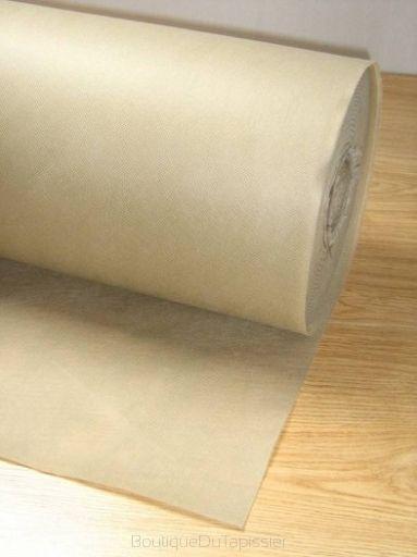 Rouleau de doublure non tissée beige - Boutique Du Tapissier-Simili cuir-Tissu d'ameublement-étoffe-Tissu Revêtement automobile-Ciel de toit-Mousse de polyuréthan-Mousse tapissier-Outillage du tapissier-Meuble tapisée-www.boutiquedutapissier.fr