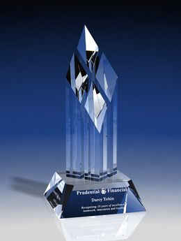 Pioneer Corporate Crystal and Glass Recognition Awards - Eclipse Awards