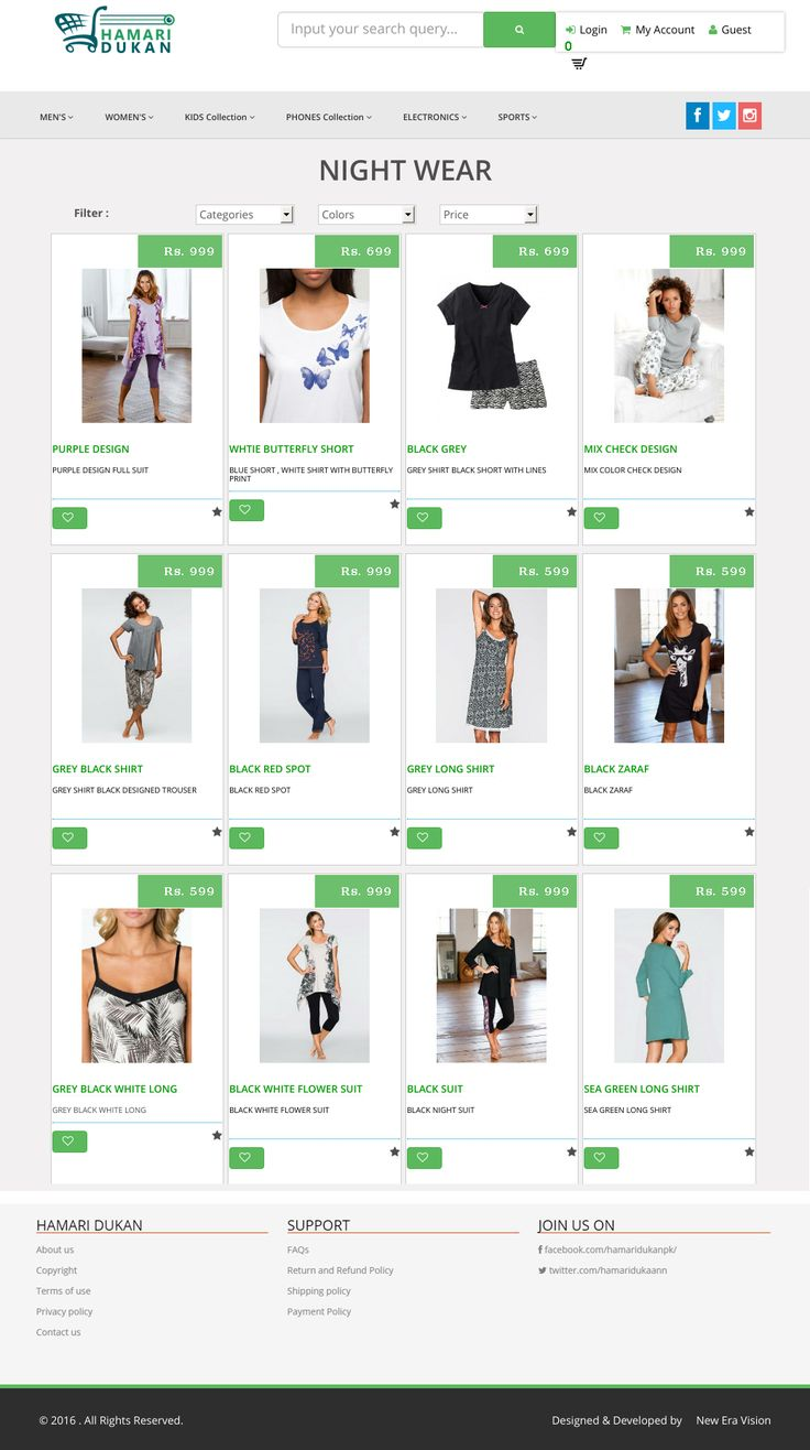 Get e-Commerce Development with New Era Vision with all Basic Features of e-Commerce Website. Hamari Dukan 's Features for e-Commerce Website developed & Designed by New Era Vision . Hamari Dukan is an online shopping place where you can find an extensive array of wide-ranging products and seamless services in an instant. Contact : +92 322 3382972 | sales2@neweravision.com #Wesite #Designer #web #expert #photoshop #illustrator #html5 #css3 #javascript #jquery #ajax #angularjs #bootstrap #me