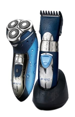 King P-070-071 Tıraş Makinesi + Saç Kesme Makinesi ::