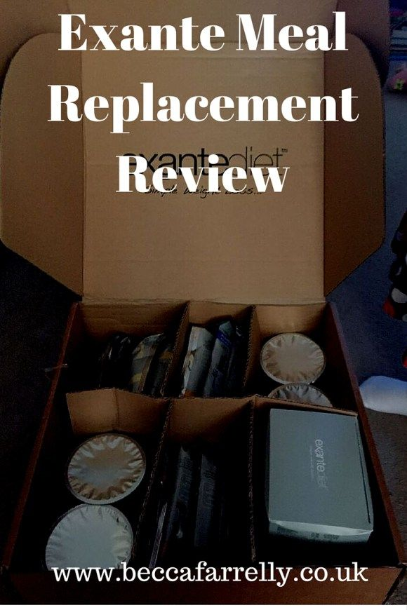 Exante Meal Replacement Diet Plan Review http://www.beccafarrelly.co.uk/exante-meal-replacement-diet-plan-review/