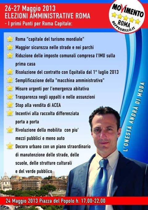 De Vito e il suo programma