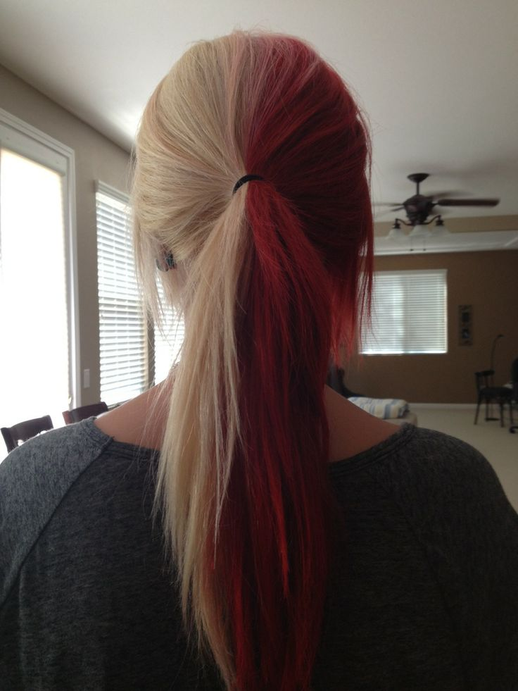 25+ best ideas about Half colored hair on Pinterest | Dyed ...