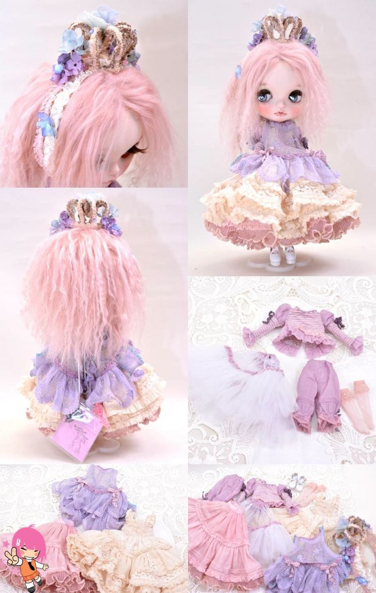 We love custom Blythe dolls! Some of them are really pieces of art! Like the one we have today! She is the Fairy Spring, a creations of Milk Tea! Lovely!