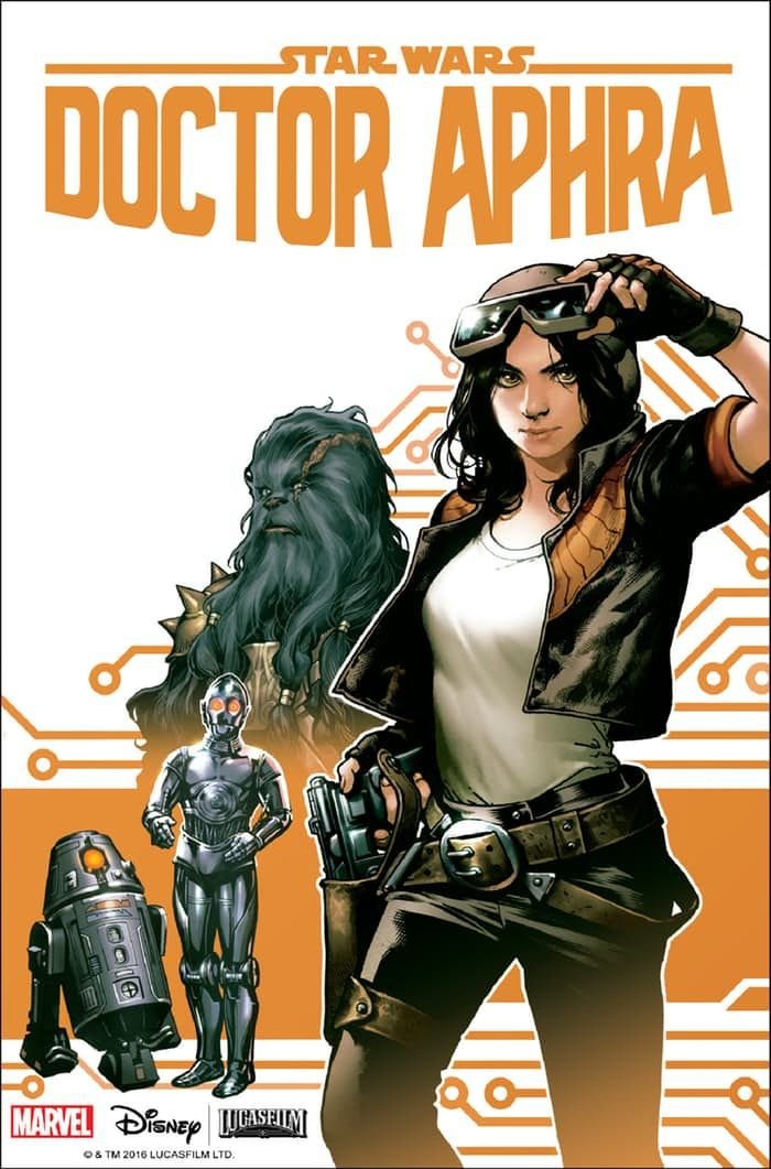 «Star Wars: Doctor Aphra» - секретный комикс по Star Wars | GeekCity