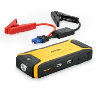 Save 74% [Ultra Compact] Anker Compact Car Jump Starter and Portable Charger Power Bank