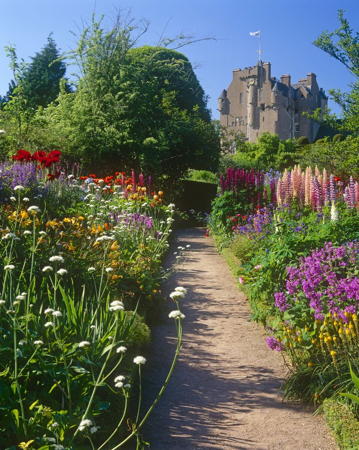 Around The World In 50 Amazing Gardens. Tower HouseCastle ScotlandPerennial  ...