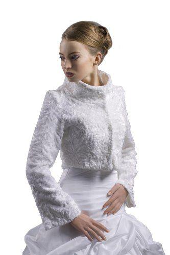 Brautjacke zum Brautkleid aus gepraegtem Samt - E90 (M, ivory/champagner) Nina Brautmoden http://www.amazon.de/dp/B00KJQ9AZG/ref=cm_sw_r_pi_dp_QM9hub1WWB7PY