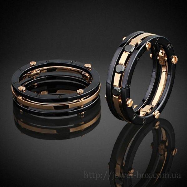 Обручальные кольца Baraka с бриллиантами