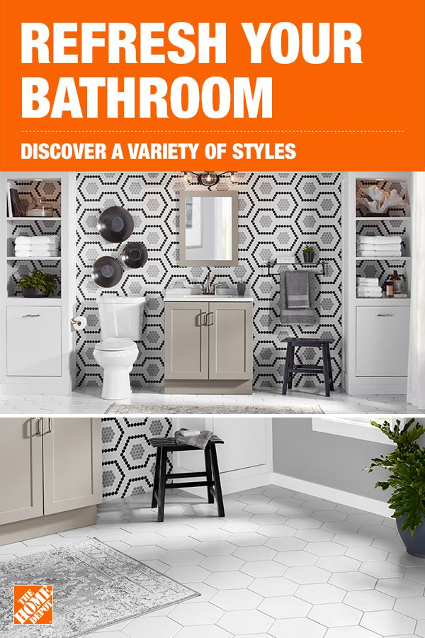 Refresh Your Bathroom With Stylish And