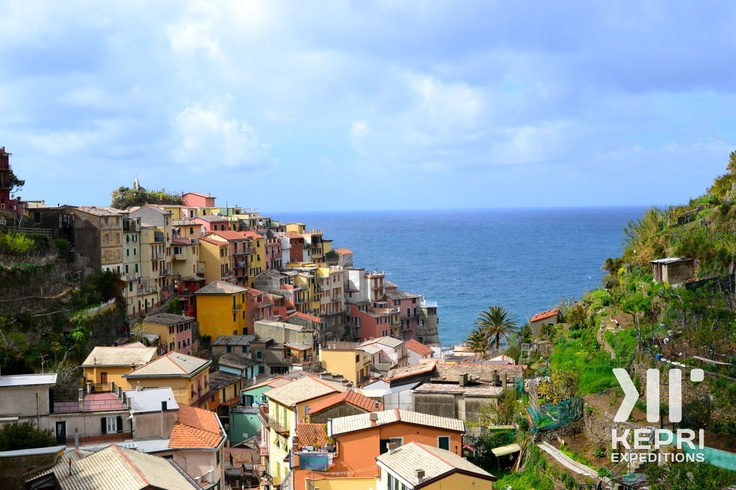 A view of Cinque Terre during a Kepri Student Expedition to Italy, April 2012.