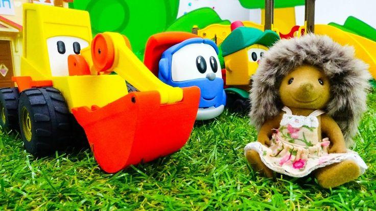Машинки Игрушки Грузовичок Лева и Мася в Видео для детей: Детская площад...