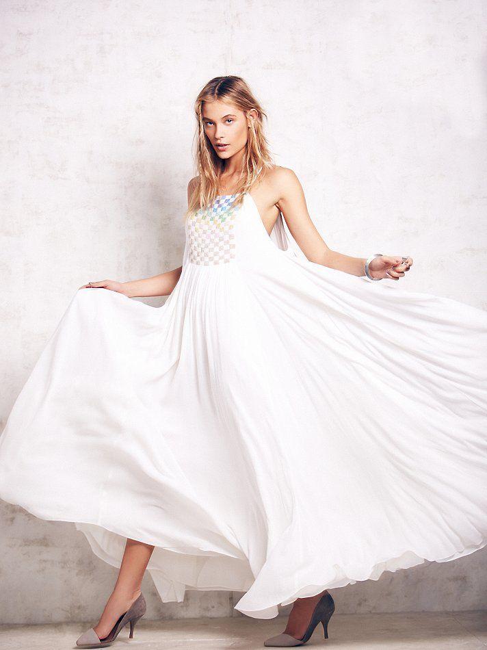 Shapeless maxi dresses