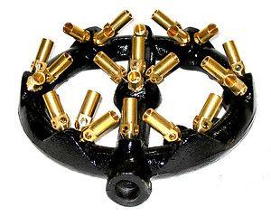 Chinese Wok Range 23 Tips Jet Burner Copper Tips Cast Iron Body Natural Gas | eBay