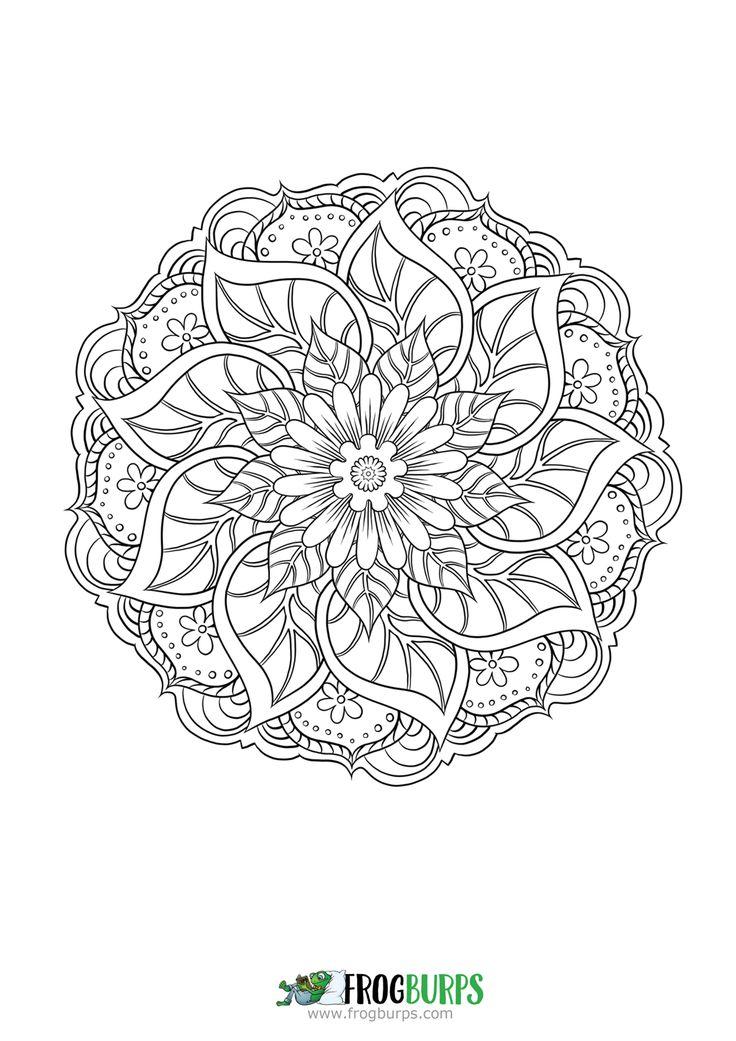 Mandala | Coloring Page