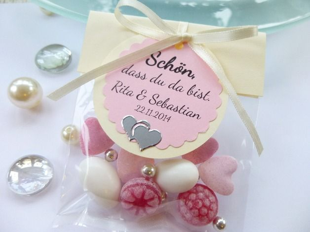 Gastgeschenke - Bonbons im Sackerl