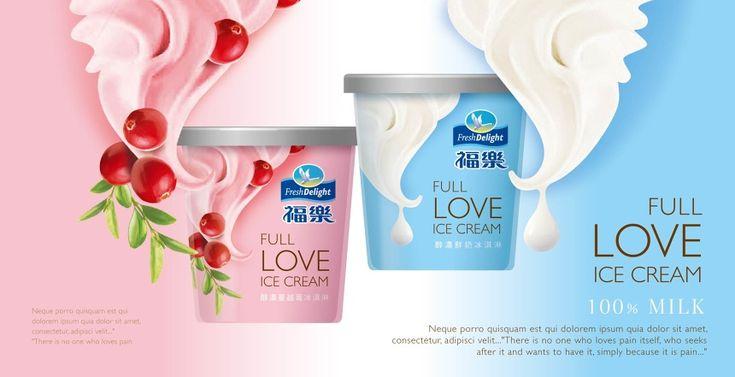 FreshDelight icecream - li-rose