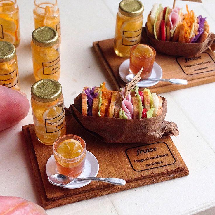 2017.09. Miniature Sandwich ♡ ♡ By Fraise
