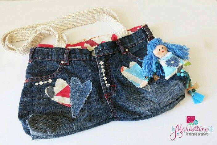 Borsa in jeans per Mariottina.