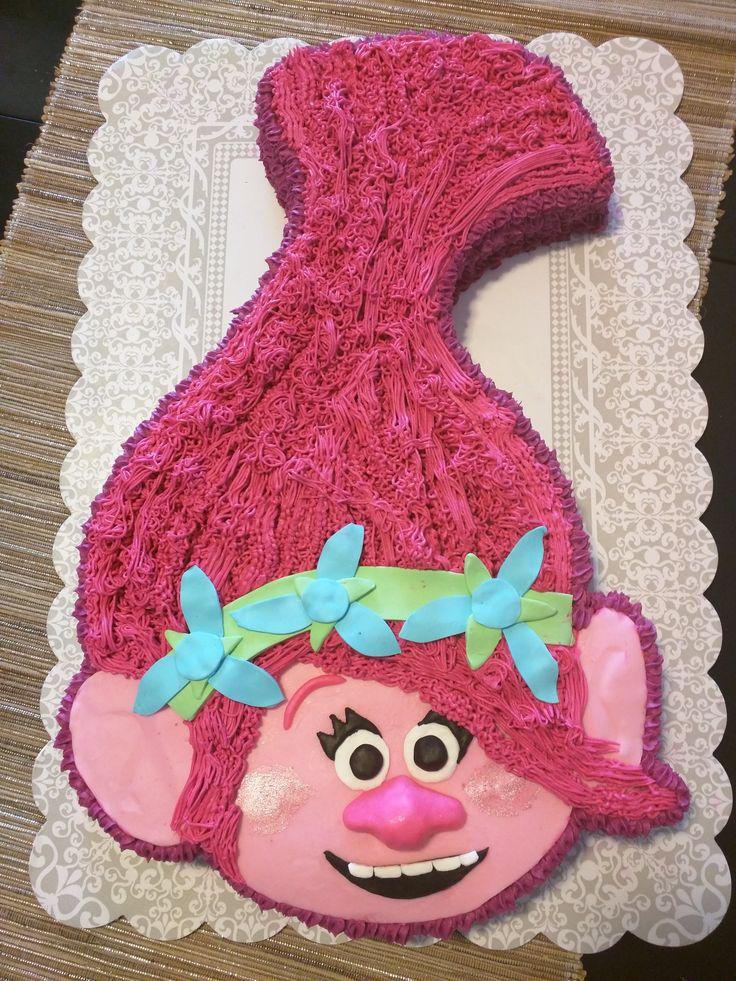 Princess Poppy Cake Clara S 5th Birthday Trolls