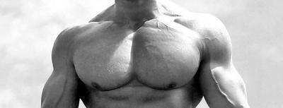 brazos y pecho masa muscular