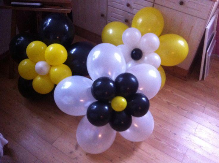 verschiedenen Ballon Blumen für Smart